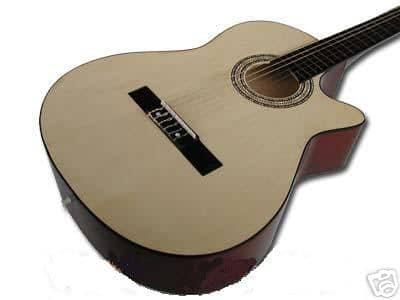 caractéristique guitare Folk